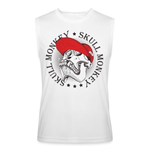 skull monkey vintage - Men's Performance Sleeveless Shirt