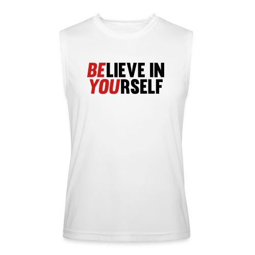 Believe in Yourself - Men's Performance Sleeveless Shirt