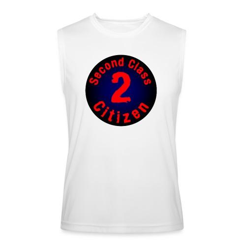 2nd Class Citizen Logo (Dark) - Men's Performance Sleeveless Shirt