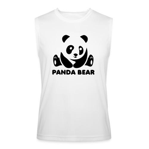 panda bear - Men's Performance Sleeveless Shirt