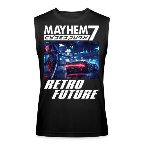 M7 Cyberpunk - Men's Performance Sleeveless Shirt