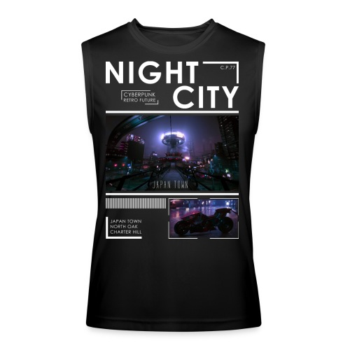 Night City Japan Town - Men's Performance Sleeveless Shirt