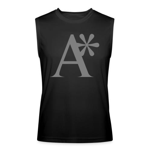 A* logo - Men's Performance Sleeveless Shirt