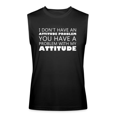 attitude - Men's Performance Sleeveless Shirt