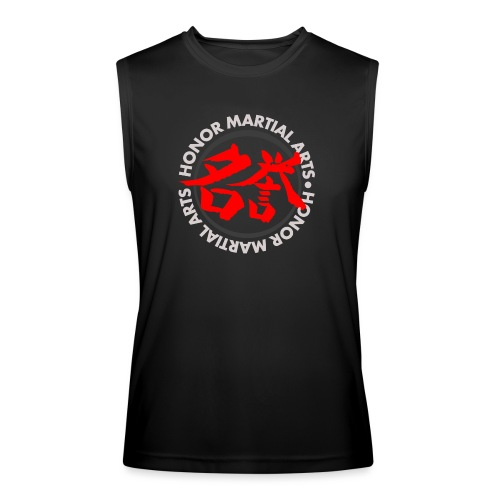 Honor Martial Arts Kanji Design Light Shirts - Men's Performance Sleeveless Shirt