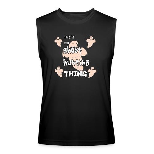 ghost hunting thing - Men's Performance Sleeveless Shirt