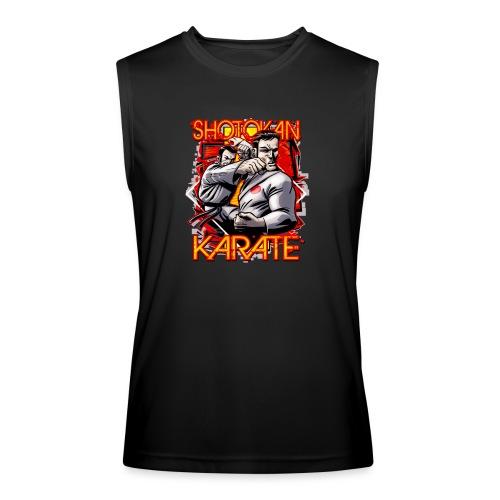 Shotokan Karate shirt - Men's Performance Sleeveless Shirt