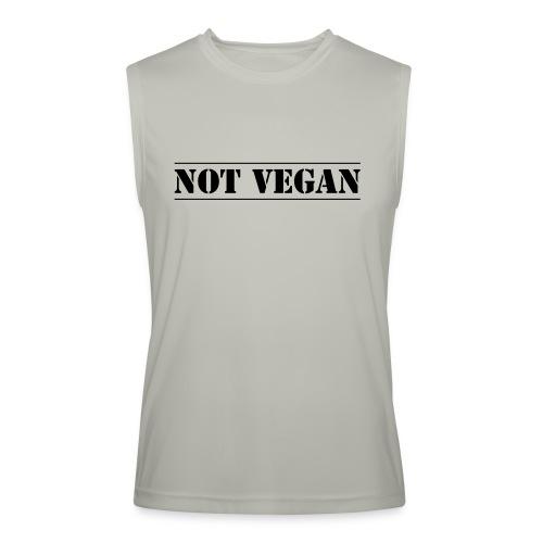 NOT VEGAN - Men's Performance Sleeveless Shirt