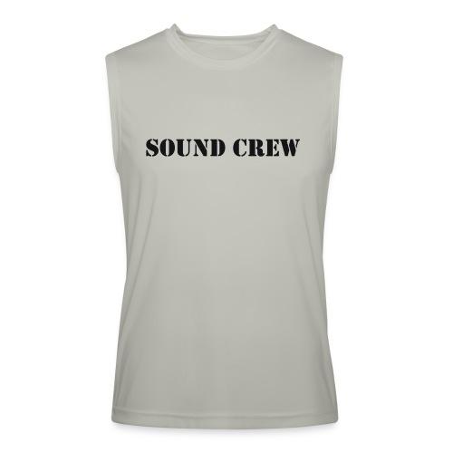 Sound Crew - Men's Performance Sleeveless Shirt