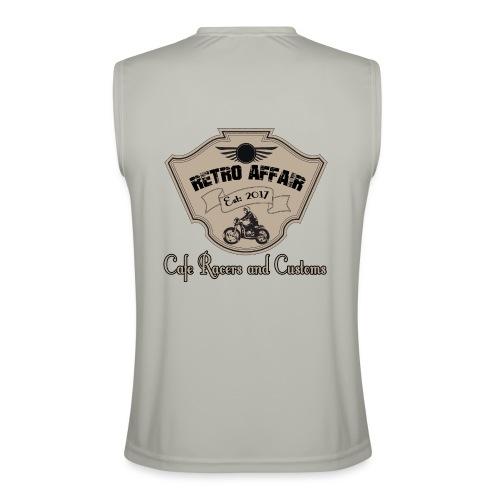 Retro Badge - Men's Performance Sleeveless Shirt