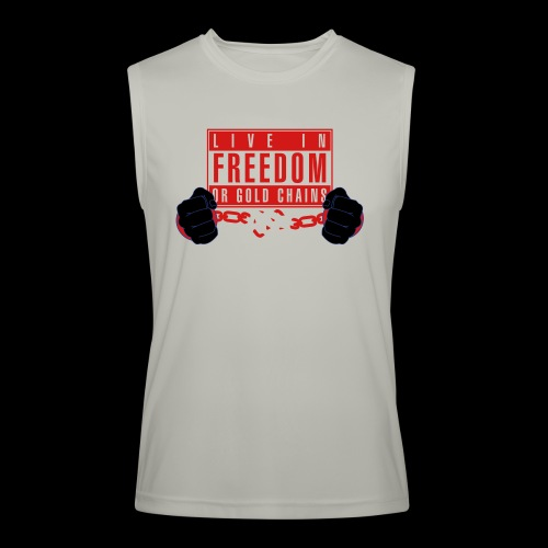 Live Free - Men's Performance Sleeveless Shirt