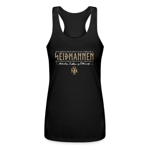 SEIÐMANNEN - Heathenry, Magic & Folktales - Women's Performance Racerback Tank Top