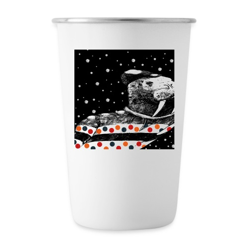Not so ugly Christmas Tee   Jumper - Stainless Steel Pint Cup