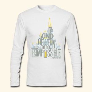 The Impossible - Men's Long Sleeve T-Shirt by Next Level