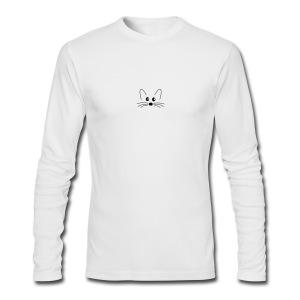 SQLogoTShirt-front - Men's Long Sleeve T-Shirt by Next Level
