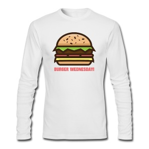 Burger Wednesday! - Men's Long Sleeve T-Shirt by Next Level