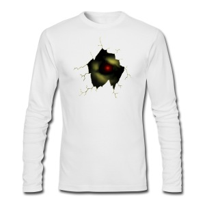 Broken Egg Dragon Eye - Men's Long Sleeve T-Shirt by Next Level