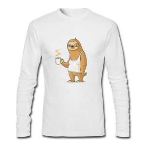 Monday Morning Depresso - Men's Long Sleeve T-Shirt by Next Level