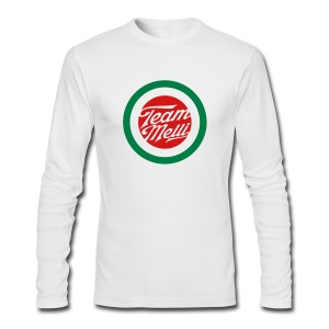 TEAM MELLI RETRO BADGE - Men's Long Sleeve T-Shirt by Next Level