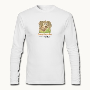 Beauty Everywhere Carolyn Sandstrom - Men's Long Sleeve T-Shirt by Next Level