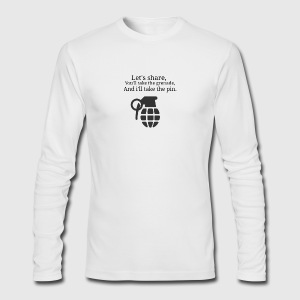 Grenade - Men's Long Sleeve T-Shirt by Next Level