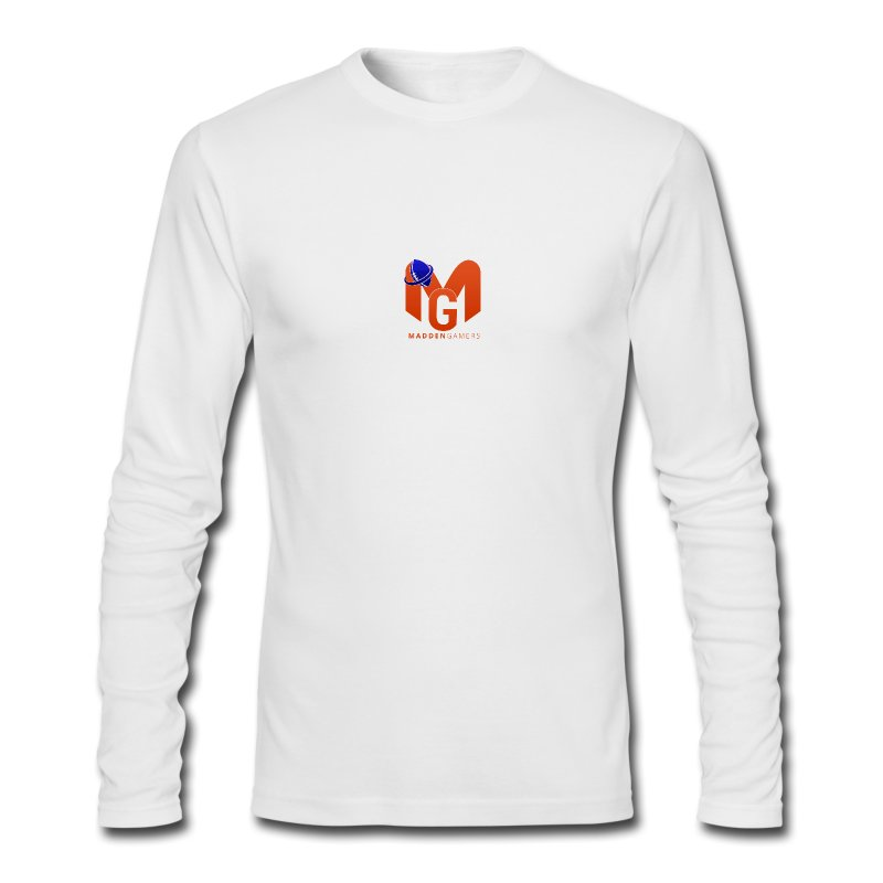MaddenGamers MG Logo - Men's Long Sleeve T-Shirt by Next Level