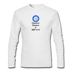 SB Seal Design - Men's Long Sleeve T-Shirt by Next Level
