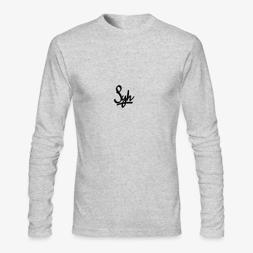 B2D7158F 3826 47F7 99EB 4653450DBDFC - Men's Long Sleeve T-Shirt by Next Level