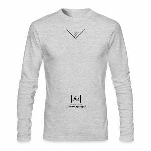 I'm always right! [fbt] - Men's Long Sleeve T-Shirt by Next Level