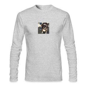 Chloe as Snooki Pug - Men's Long Sleeve T-Shirt by Next Level