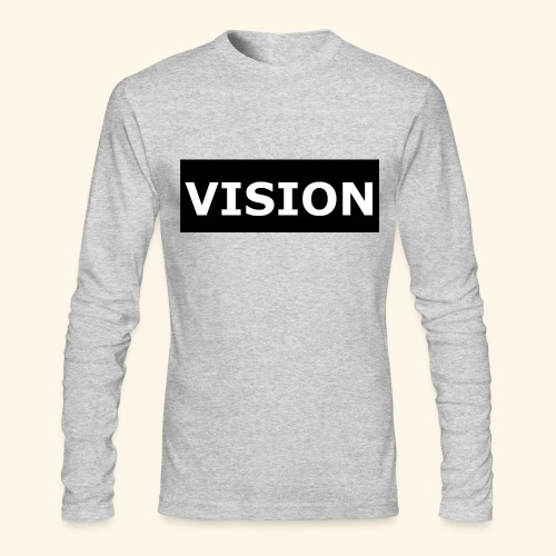 VISION - Men's Long Sleeve T-Shirt by Next Level