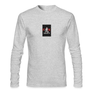 MR-ROBOT-hoodie - Men's Long Sleeve T-Shirt by Next Level