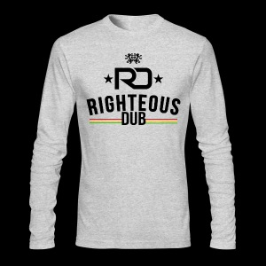 Righteous Dub Logo - Men's Long Sleeve T-Shirt by Next Level