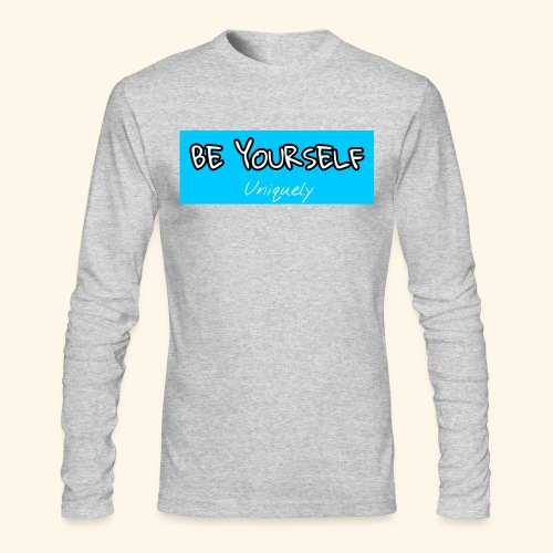 Be Yourself - Men's Long Sleeve T-Shirt by Next Level