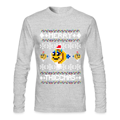 Merry Thiccmas - Men's Long Sleeve T-Shirt by Next Level