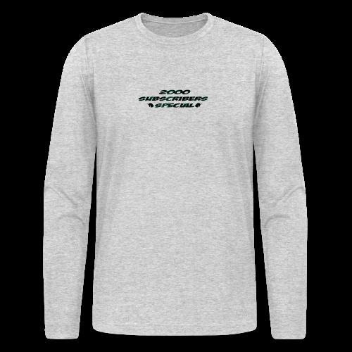 2k Subscribers Merch - Men's Long Sleeve T-Shirt by Next Level