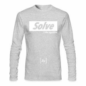 Solve the Equation [fbt] - Men's Long Sleeve T-Shirt by Next Level