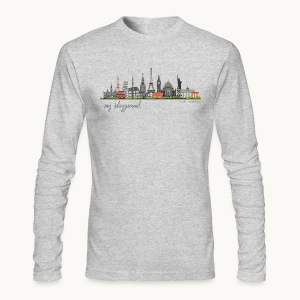 WORLD - MY PLAYGROUND - Carolyn Sandstrom - Men's Long Sleeve T-Shirt by Next Level