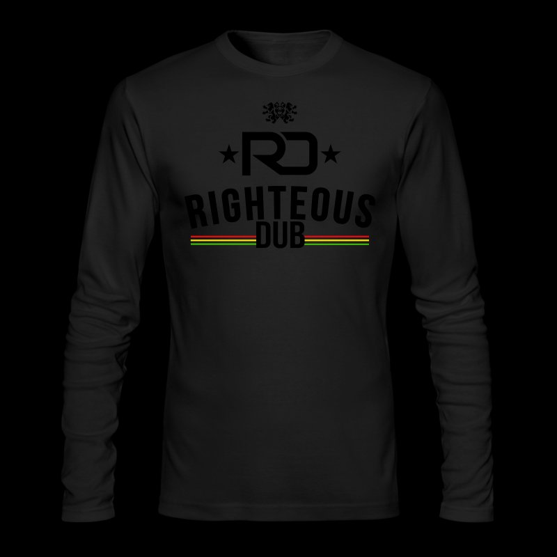 Righteous Dub Logo - Men's Long Sleeve T-Shirt by Next Level