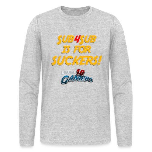Anti Sub4Sub - Men's Long Sleeve T-Shirt by Next Level