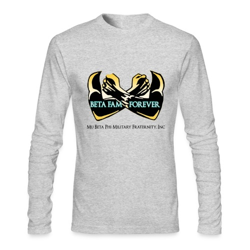 Beta Fam Forever - Men's Long Sleeve T-Shirt by Next Level