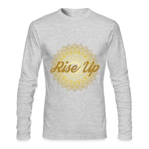 Rise Up by Ezina - Men's Long Sleeve T-Shirt by Next Level