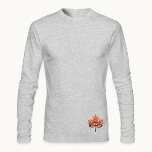 I WAS MADE IN CANADA -Linen -Carolyn Sandstrom - Men's Long Sleeve T-Shirt by Next Level