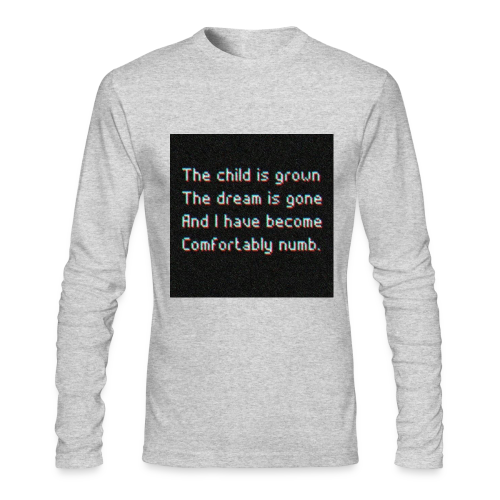 ELIAAZZ - comforably numb - Men's Long Sleeve T-Shirt by Next Level