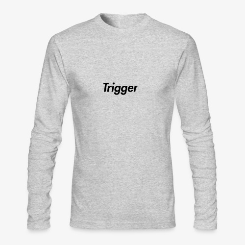 Black Trigger - Men's Long Sleeve T-Shirt by Next Level