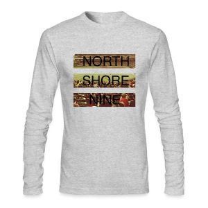 North Shore Nine Stadium Pic - Men's Long Sleeve T-Shirt by Next Level