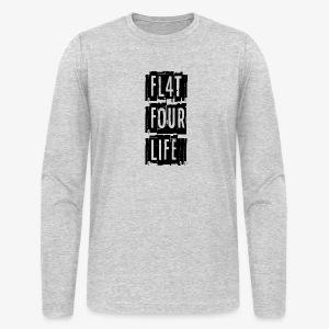 FL4T FOUR LIFE - Men's Long Sleeve T-Shirt by Next Level