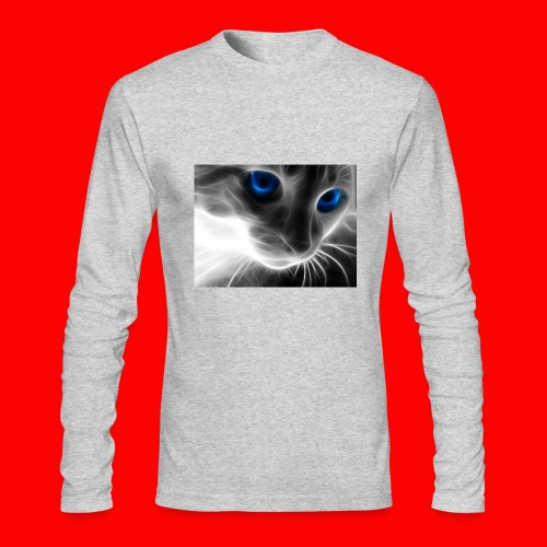 sly cat - Men's Long Sleeve T-Shirt by Next Level