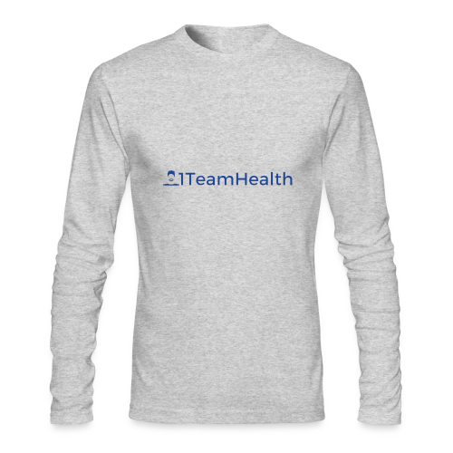 1TeamHealth Simple - Men's Long Sleeve T-Shirt by Next Level