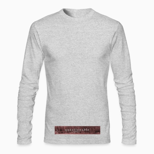 2017-10-13 limited first drop - Men's Long Sleeve T-Shirt by Next Level